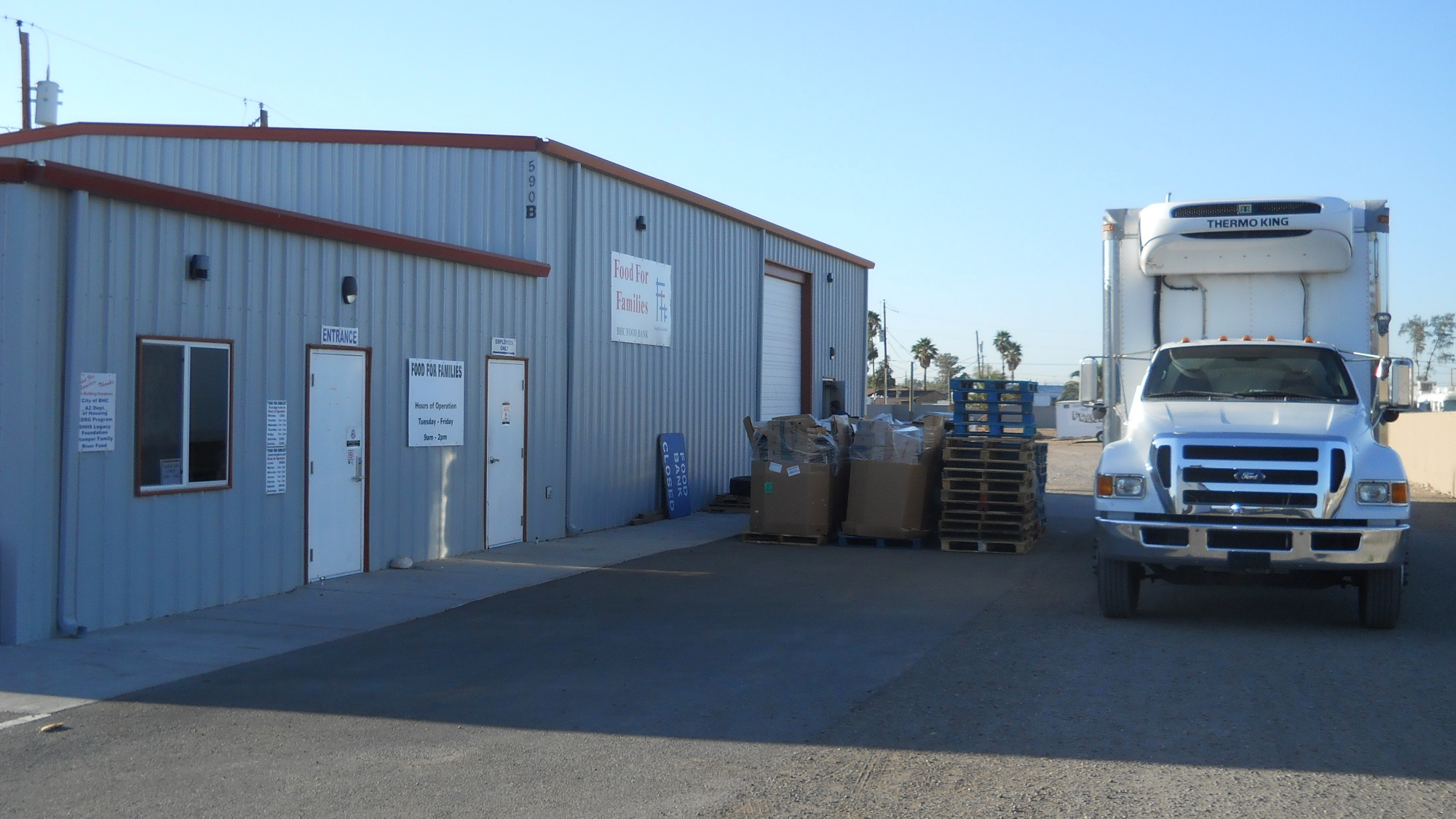Warehouse Header